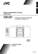 Buy JVC UX-G1-33 Service Manual by download Mauritron #284159