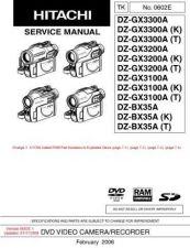 Buy Hitachi DZMV100EAU- Service Manual by download Mauritron #285289