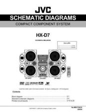 Buy JVC HX-D7sch Service Manual by download Mauritron #274508