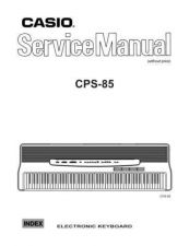 Buy casio cps-85 Service Manual by download #333279