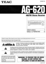 Buy Teac AG620EF Operating Guide by download Mauritron #318260