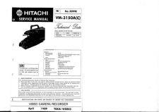 Buy Hitachi VM8400LA-7400A Service Manual by download Mauritron #291016