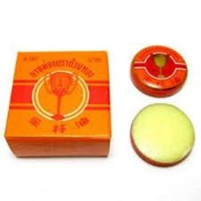Buy 2 G. THAI GOLDEN CUP BALM Ointment Herbal Medicine Pain Relief+Free Shipping