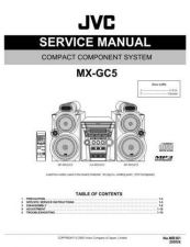 Buy JVC MX-GC5 Service Manual by download Mauritron #282833