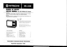 Buy Hitachi CR338 Service Manual by download Mauritron #289348