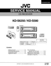 Buy JVC KS-D580 Service Manual by download Mauritron #275342