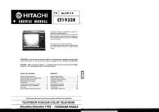 Buy Hitachi CT2543 Service Manual by download Mauritron #289560