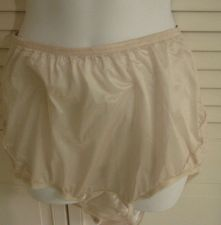 Buy Vanity Fair 7 Vintage Panties Slippery Sexy Lace Inserts NWOT Cream Sheer 7