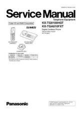 Buy Panasonic KX-TG7120NLS Manual by download Mauritron #300481