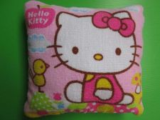 Buy Hello Kitty New Pink Throw Pillow Cushion for American Girl Dollhouse 18 x 18 cm