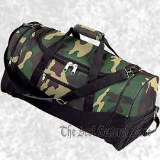"Buy Water Repellent 23"" Hunting Camouflage Duffle Gym Bag Camo Luggage Tote Carry On"