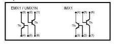 Buy SMT Transistor - UMX1N Dual NPN General Purpose Amplifier (SOT-23-5) - 22 Pieces