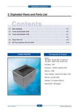 Buy 20080714085826609 05-EXPLODED ML-1640 XIP(VER2.0) 2 Manual by download Mauritron #303