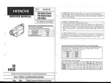 Buy Hitachi VMH755LA Service Manual by download Mauritron #286974