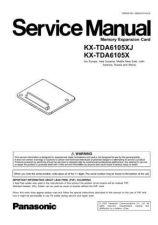 Buy Panasonic TDA6105XJ Manual by download Mauritron #302222