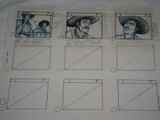 Buy Collectable Cartoon 'THE LONE RANGER' story board