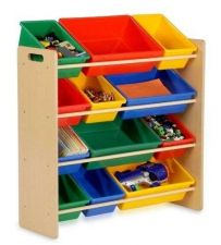 Buy Kids Organizer Storage Unit Toddler Garage Bedroom Toys Bin Crayons Books Dolls