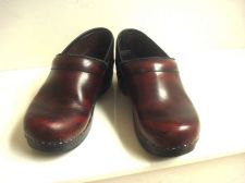 Buy Dansko Black Cherry Professional Clogs 37 7 M Stapled NO SOLE R DRYING 7 M