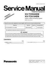 Buy Panasonic KX-TCA151EM][]][][ Manual by download Mauritron #299859