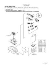 Buy JVC GR-D40EY part Service Manual by download Mauritron #280598