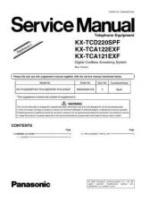 Buy Panasonic KX-TCA120EXC---- Manual by download Mauritron #299634