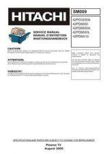 Buy Hitachi SM009 Service Manual by download Mauritron #331949