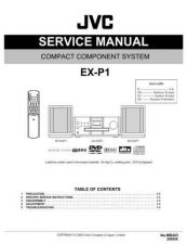 Buy JVC EX-P1-12 Service Manual by download Mauritron #274058