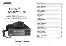 Buy Ranber RCI2970DX-150 Operating Guide by download #333682
