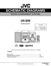 Buy JVC UX-S59-15 Service Manual by download Mauritron #277245