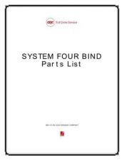 Buy Office Equipment VELOBIND SYSTEM FOUR BIND PARTS by download #335644