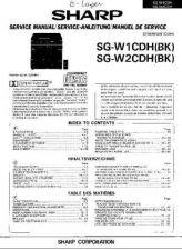 Buy JVC SGW1CDH-W2CDH_SM_GB-DE-FR(1) Service Manual by download Mauritron #278196