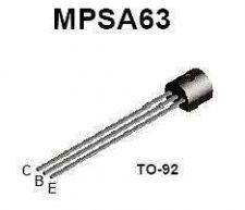 Buy Transistor - MPSA-63 PNP (TO-92) - 22 Pieces