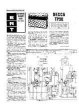 Buy DECCA TP90 Service Sheets Set by download Mauritron #328313