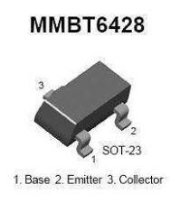 Buy SMT Transistor - MMBT6428 NPN General Purpose Amplifier (SOT-23) - 24 Pieces