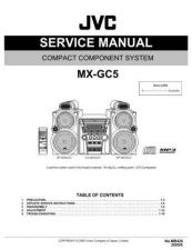 Buy JVC MX-GC5-4 Service Manual by download Mauritron #282836