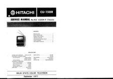 Buy Hitachi CU-4600B Service Manual by download Mauritron #289755