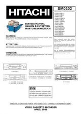 Buy Hitachi VTMX411A Service Manual by download Mauritron #287394