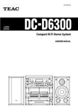 Buy Teac DC-D6800EF Operating Guide by download Mauritron #318552