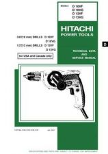 Buy Hitachi D10VF_UCO Tool Service Manual by download Mauritron #319784
