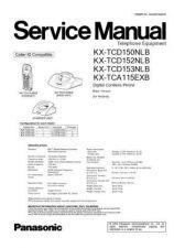 Buy Panasonic KX-TCD152CEC Manual by download Mauritron #299955