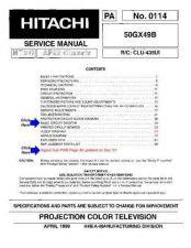 Buy Hitachi PA0114 Service Manual by download Mauritron #331846
