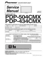 Buy Panasonic PDP-504CMX Manual by download Mauritron #301121