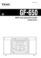 Buy Teac GF350ED Operating Guide by download Mauritron #318747