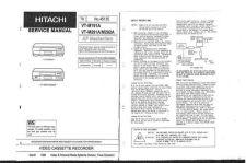 Buy Hitachi VTMX102E Service Manual by download Mauritron #287381