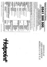 Buy Hotpoint TL11 Dryer Operating Guide by download Mauritron #314082