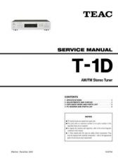Buy Teac T-H500 Service Manual by download Mauritron #319571