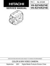 Buy Hitachi VKC370W Service Manual by download Mauritron #286634