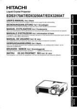 Buy Hitachi EDX8250 Service Manual by download Mauritron #290223