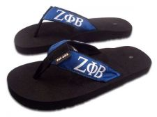 Buy Zeta Phi Beta Polka Dot Flip Flops - Size 6