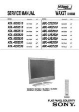 Buy Sony KDL32V2500 is WAX2T Chassis Service Manual by download Mauritron #328922